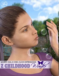 Z Childhood Wonder - Expressions for Genesis 3 Female