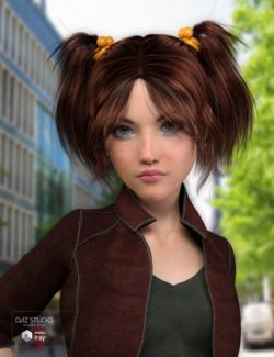 Yumi Hair for Genesis 3 Female(s)