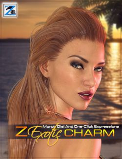 Z Exotic Charm - Morph Dial & One-Click Expressions for Genesis 3 Female