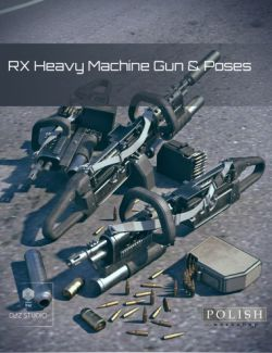 RX Heavy Machine Gun and Poses