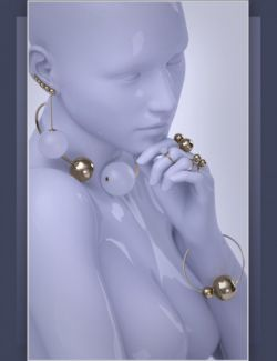 ES Sphaerae Jewelry Vol.1 for Genesis 3 Female(s)