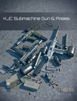 KJC Submachine Gun and Poses