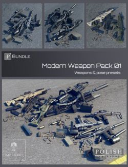 Modern Weapon Pack Bundle 01