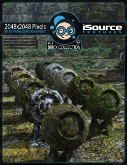 Brick Collection Merchant Resource - Vol4 (PBR Textures)