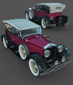 LINCOLN 1929 SPORT TOURING-EXTENDED LICENSE