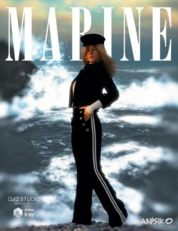 Marine Outfit for Genesis 3 Female(s)