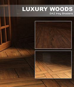 DAZ Iray- Luxury Woods