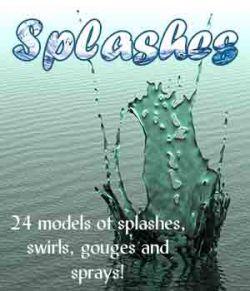 Splashes, Splats, Swirls, Sprays & Gouges
