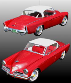 STUDEBAKER STARLINER 1953 ( for Poser )