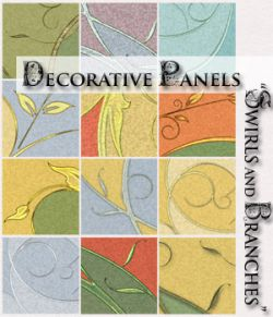 Decorative Panels- Swirls and Branches