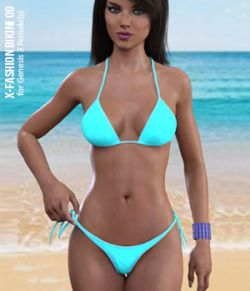 Fashion Bikini 09 for Genesis 3 Females