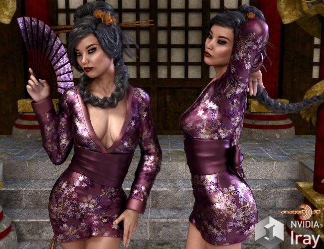 VERSUS - Geisha for Genesis 3 Females