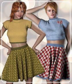 Pauline and V4 Spring Fashion