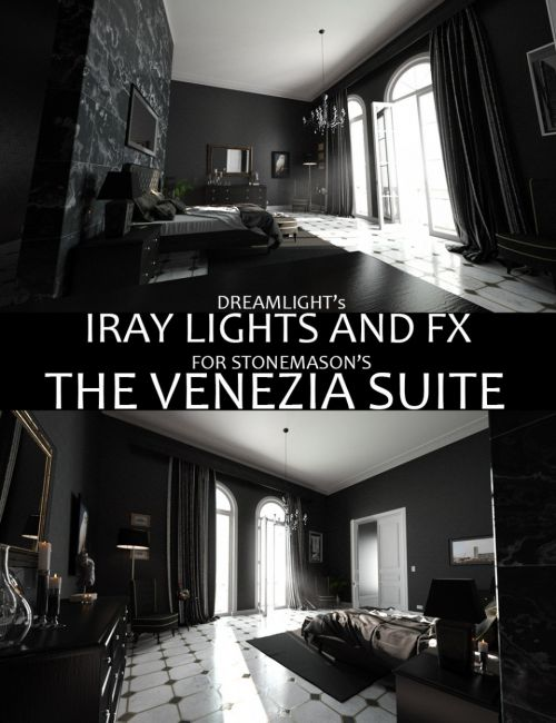 Iray Lights and FX for The Venezia Suite