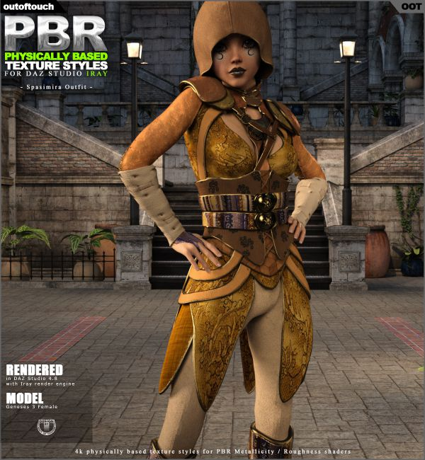 OOT PBR Texture Styles for Spasimira Outfit