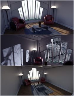 Longitude & Latitude Lighting and Render Presets for DS Iray Vol 2