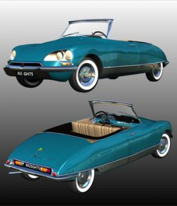 CITROEN DS21 CABRIOLET- Extended License
