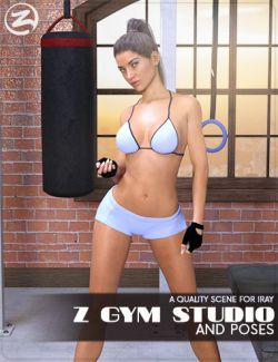 Z Gym Studio and Poses