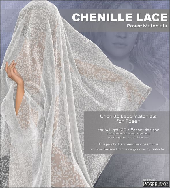Poser - Chenille Lace