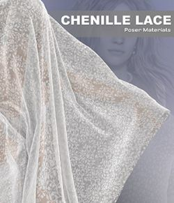 Poser- Chenille Lace