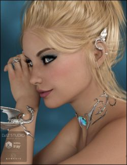 Dragon Horde Jewelry for Genesis 3 Female(s)
