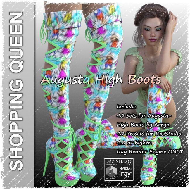 Shopping Queen: for Augusta High Boots