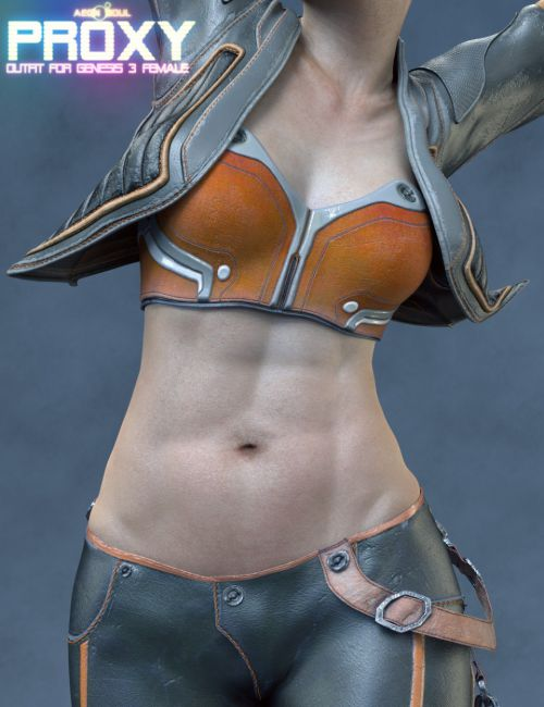 Proxy Outfit for Genesis 3 Female(s)