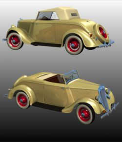 FORD 1934 V8 ROADSTER - Extended License