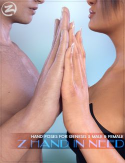 Z Hand In Need- Hand Poses for Genesis 3 Male and Female