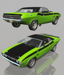 DODGE CHALLENGER 1970 - Extended License