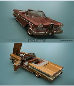 EDSEL 1958 CONVERTIBLE - Extended License