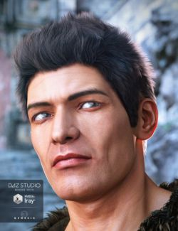Jonathan Hair for Genesis 3 Male(s)