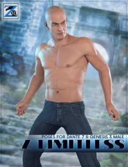 Z Limitless- Poses for Dante 7 and Genesis 3 Male