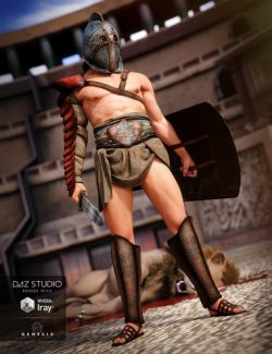 Thracian Gladiator Outfit for Genesis 3 Male(s)