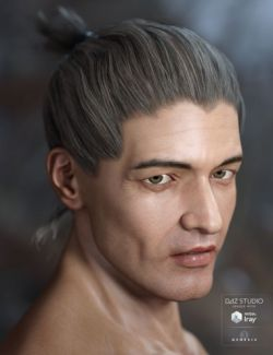 Idris Hair for Genesis 3 Male(s) & Female(s)