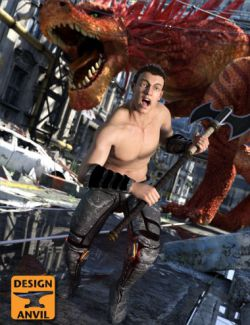 DA Dante 7 Inferno Poses
