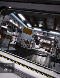 Sci-Fi Interior Kit 2