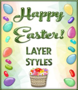 Happy Easter! Layer Styles Mega Pack