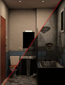 The Bathroom, BEFORE and AFTER...
