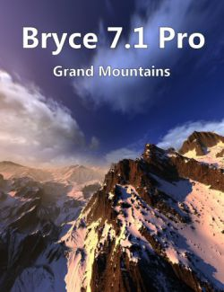 Bryce 7.1 Pro - Grand Mountains