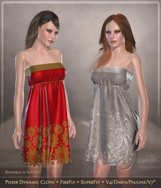 FRQ Dynamics: Minimal Cocktail Dress
