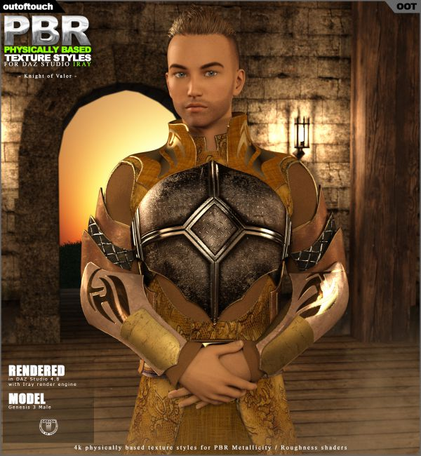 OOT PBR Texture Styles for Knight of Valor