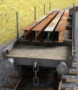 GWR -Macaw B- Bogie Wagon