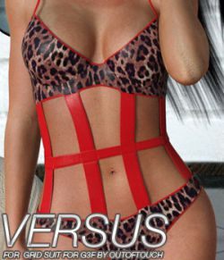VERSUS- Grid Suit for Genesis 3 Females
