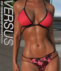 VERSUS - Ozone Bikini for Genesis 3 Female(s)