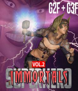SuperHero Immortals for G2F &G3F Volume 2