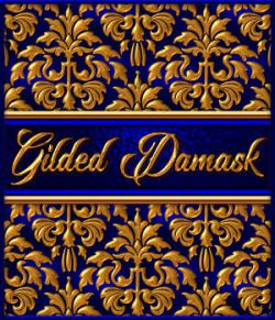 Gilded Damask Layer Styles