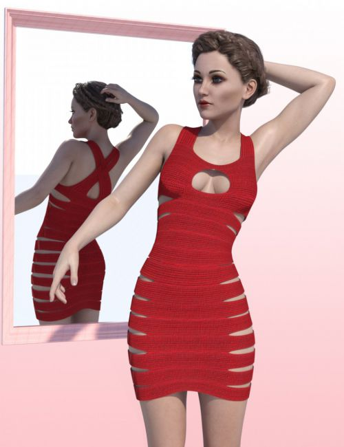 Bandage Dress for Genesis 3 Female(s)