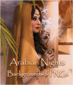 Arabian Nights Interactive Backgrounds