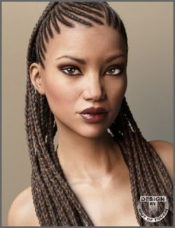Rasta Tails Hair and OOT Hairblending 2.0 for Genesis 3 Female(s)